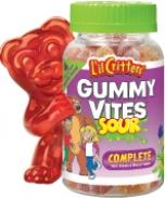 Kẹo gôm L'il Critters Gummy Vites Sour
