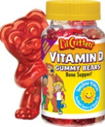 Kẹo gôm L'il Critters Vitamin D Gummy Bears
