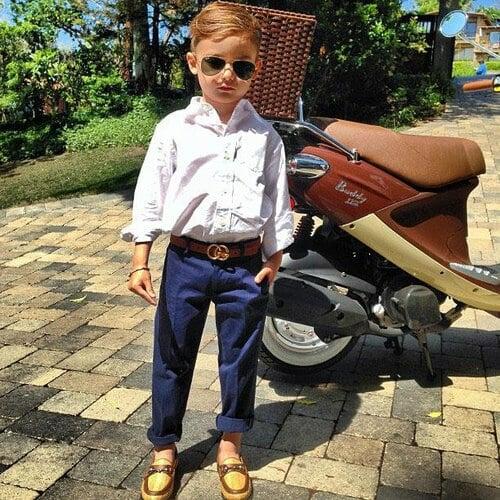 经典儿童时尚风格