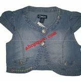 Áo khoác lửng jeans (Ohoo - HQ)  Size:  4 đến 7 tuổiGiá: 119.000 VNdTT: hết hàng