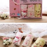 Gift Box bé gái Hàn Quốc, vải bông nhập khẩu từ Mỹ, có thành phần chính SUPIM-Đó là một sợi dài với đặc tính tốt của bông thiên nhiên- bông tốt nhất thế giới, sợi vải dẻo dai, mềm mại và sáng bóng, bông này chỉ phát triển tại Hoa Kỳ và Peru. ++ shop sẽ giao ngẫu nhiên màu sắc dành cho bé trai  Size: S(2-4 tuổi), M (4-6 tuổi), L(6-8t) , XL(8-10t)