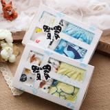 Gift Box bé trai Hàn Quốc, vải bông nhập khẩu từ Mỹ, có  thành phần chính SUPIM-Đó là một sợi dài với đặc tính tốt của bông thiên nhiên- bông tốt nhất thế giới, sợi vải dẻo dai, mềm mại và sáng bóng, bông này chỉ phát triển tại Hoa Kỳ và Peru.  Size:  S(1-3 tuổi), M (3-5 tuổi), L(5-8t) , XL(8-12t)