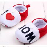 Giày tập đi I love Mom  Size: 11-12-13 cm