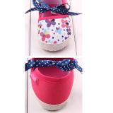 Giày tập đi hoa kết nơ  Size: 11-12 cm