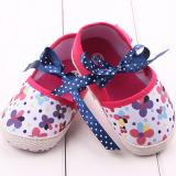 Giày tập đi hoa kết nơ  Size: 11-12cm