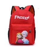 balo frozen. chất liệu : vải dù, có lớp lót chống thấm nước bên trong, thích hợp cho bé từ 4-9 tuổi  Size: 34 * 26 * 11cm