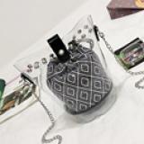 túi xách trong- phong cách Hàn Quốc  Size: 20cm * 13cm * 13cm