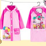 Áo mưa hoạt hình phong cách Hàn Quốc cho bé đi học, sau lưng áo được thiết kế rộng hơn có thể trùm luôn cả balo đeo sau lưng mà không sợ ướt. Chất liệu PVC tốt  Size: M(cho bé 100-110cm) L(cho bé 110-120cm) XL(cho bé 120-130cm) XXL(cho bé 130-140cm) XXXL(cho bé 140-150cm)