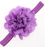 băng đô hoa vải nhiều tầng thun co giãn tốt  Size: chi vi 34cm, rộng 1,5cm, đường kính hoa 10cm
