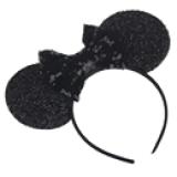 băng đô chuột micky(bé dưới 18 tháng thay bằng dây ruy băng không làm đau đầu bé)  Size: free size
