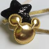 set 2 băng đô ngôi sao+ Mickey vàng phong  cách Hàn Quốc Size free size