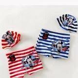 Set quần + nón bơi chuột Mickey  Size:  18 - 22 kg