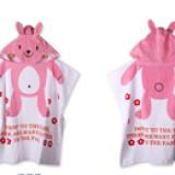 Khăn choàng đi biển, hồ bơi, hay dùng cho bé hóa trang thành những chú thỏ dễ thương.  Size: 60 x 120 cm