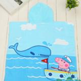 Khăn choàng đi biển, hồ bơi, hay dùng cho bé hóa trang thành những con vật ngộ nghĩnh  Size: 60 x 120 cm
