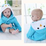 Áo choàng tắm hiệu OEM cao cấp chim cánh cụt  Size: 0-3 tuổi, dưới 105cm , 100% cotton
