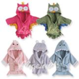 Áo choàng tắm hiệu OEM cao cấp các loại  Size: 0-3 tuổi, 54 * 43 * 45cm , 100% cotton