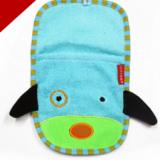 Khăn tắm cún xanh hiệu Skip Hop  Size: 26 x 15 cm