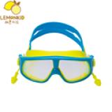 Kinh bơi thương hiệu Lemonkid Hàn Quốc có nhãn   chống hàng giả, bịt tai chống nước  Size: free size 2-10 tuổi (vòng đầu 48-56cm)