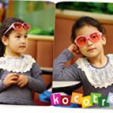 Kính Kokotree cao cấp Hàn Quốc kẻ sọc San pham co chung nhan CE Chong tia cuc tim: UV 400 Phu kien kem theo: hop nhua va khan lau kinh  Size: 2 tuổi trở lên