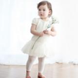 Quần legging Hàn Quốc, chất liệu: Cotton mềm mại đàn hồi siêu tốt  Size: S ( bụng 17cm, dài 40cm, 0-2 tuổi)          M  (bụng 17cm, dài 46cm, 2-4 tuổi)