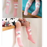 vớ hoạt hình cổ cao hàn Quốc, chất liệu: Cotton mềm mại đàn hồi  Size: S ( 0-2 tuổi)          M  (2-4 tuổi)
