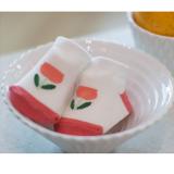 vớ chống trượt Hàn quốc hoa Tulip  Size: S ( 10cm 0-2 tuổi) M (12cm 2-4 tuổi)
