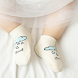 vớ chống trượt Hàn quốc hình mây  Size: S  0-2 tuổi           M 2-3 tuổi