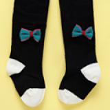 vớ quần kết nơ -phong cách Hàn Quốc, chất liệu: Cotton mềm mại, đàn hồi tốt  Size: S(0-6thang) M(6-12 tháng) L(12-24 tháng)