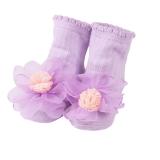 vớ kết hoa voan  Size: 13cm(9-36 tháng)
