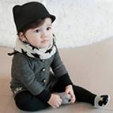 vớ cotton ngắn cổ Hàn Quốc chuột xám  Size: trên 1 tháng