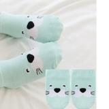 vớ cotton ngắn cổ Hàn Quốc gấu xanh  Size: trên 1 tháng