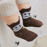 vớ cotton hoạt hình thương hiệu Happy Prince Hàn Quốc  Size: 1-3tuổi (size S 9cm,M 11cm)