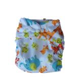 Tã (bỉm) mặc ban đêm. Tã có nhiều nút bấm để cuộn tròn cất vào túi hoặc thay đổi độ rộng phù hợp với sự lớn lên từng ngày của bé.  Size:  M (5 - 16kg), L912-24 kg)