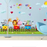 Decal vườn thú số 6  Size: Đặt hàng ngay kể từ lúc shop check FB hàng sẽ gửi trong vòng 2-3 ngày nha các bạn ☎️ Xem nhiều mẫu hơn tại http://shopqua.com Hotline :098 224 2238 - 090 962 0234 (Ms. Nguyên).
