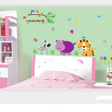Decal love you everyday  Size: 60x90cam(bao bì)