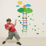 thước đo nấc thang xanh (có thể dùng trang trí phòng)  Size: 60cm x 90cm( bao bì)