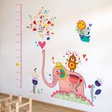 thước đo voi hồng (có thể dùng trang trí phòng)  Size: 60cm x 90cm ( bao bì)