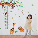 thước đo góc rừng vui nhộn (có thể dùng trang trí phòng)  Size: 60cm x 90cm( bao bì)