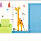 thước đo hươu cõng khỉ con (có thể dùng trang trí phòng)  Size: 60cm x 90cm( bao bì)