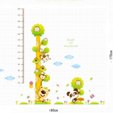 thước đo thế giới động vật(có thể dùng trang trí phòng)  Size: ( 50 x70cm)x 2