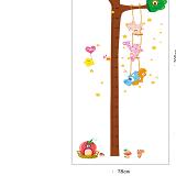thước đo góc rừng vui vẻ(có thể dùng trang trí phòng)  Size: 60x90