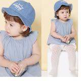 mũ denim phong cách Hàn Quốc dáng rộng vành  Size: 50 cm,12-30 tháng