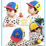 mũ lưỡi trai thêu hình  điện thoại phong cách Hàn Quốc , 100% cotton  Size: 9 tháng-3 tuổi(52cm)