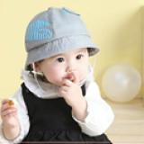 mũ Kitten phong cách Hàn Quốc , 100% cotton  Size: 9 tháng-2,5 tuổi(48-50cm)