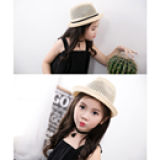 Nón cói (kiểu số 2) phong cách Hàn Quốc  Size: Trên 2 tuổi(50-52cm)