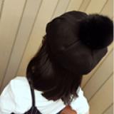 Nón bí đính bông  Size: 2-7 tuổi(48-54cm)
