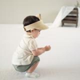 mũ cói hở đầu  Size: 1- 4 tuổi (48-50cm)
