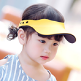 mũ  thể thao nửa đầu phong cách HQ  Size: 1-5 tuổi (47-54cm)