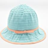 mũ rộng vành cotton thắt nơ nhỏ  Size: 2- 5 tuổi (48-50cm)