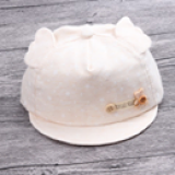 mũ vành mềm 2 tai  Size: 1-12 tháng